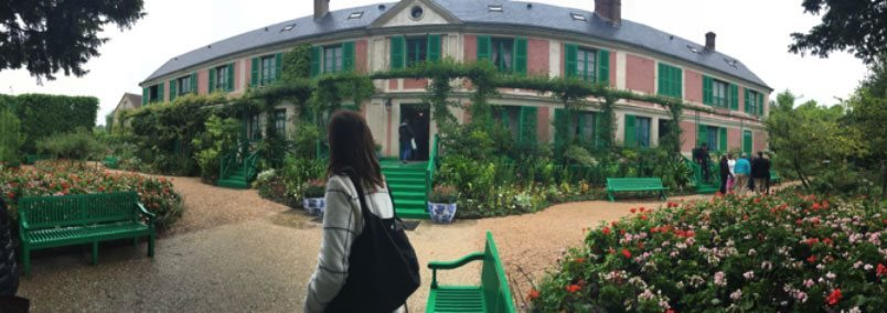 Monet house and gardens
