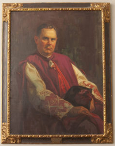 Monsignor Dillon, J.D., LL.D., served as president of the college from 1945-1956.
