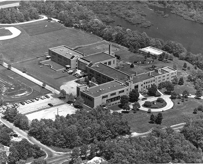 After buying the former Seton Hall High School property in Patchogue, SJC opened its Long Island campus there in 1979. The campus came to be called SJC Long Island.