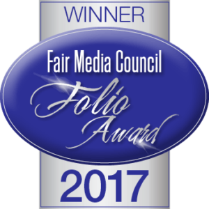 2017 Fair Media Council Folio Award Winning Site