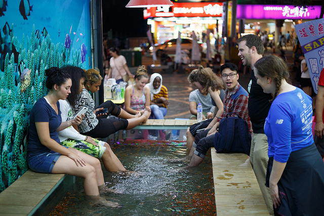 SJC Students Enjoying Taiwan Exchange Program