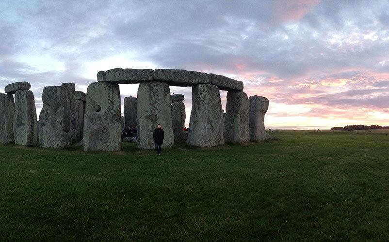 Stone Henge in Oxford.