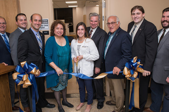 Ribbon cutting ceremony for SJC Long Island's new state-of-the-art nursing labs