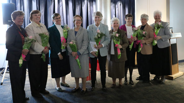 SJC Long Island Sisters renewed their religious vows.