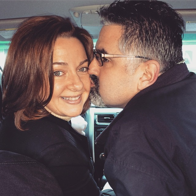 Michelle with her husband Paul.