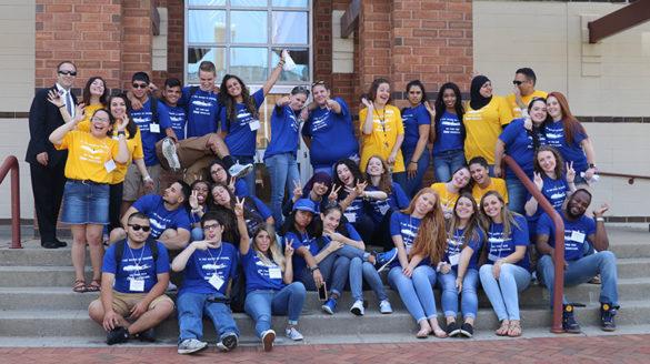 SJC Long Island 2018 first-year student orientation.