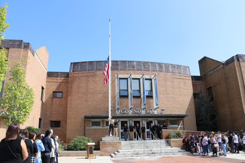 9/11 ceremony at SJC Long Island.