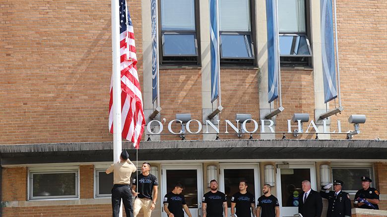Sept. 11 remembrance ceremony at SJC Long Island.
