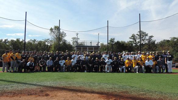 Third annual Gregg Alfano Memorial Alumni Baseball Game.