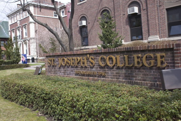 St. Joseph's College sign