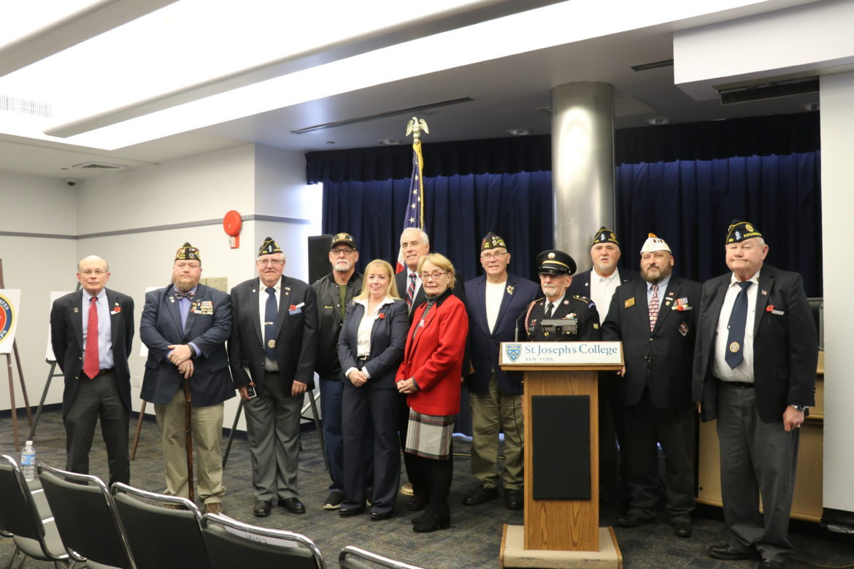 Local veterans and service members.