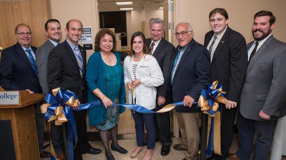 SJC Long Island nursing lab ribbon-cutting ceremony.