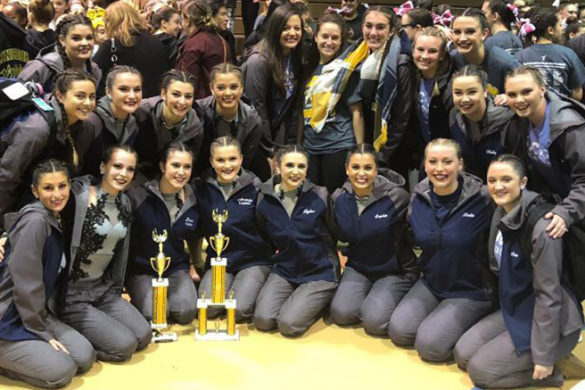 SJC Long Island's dance team.