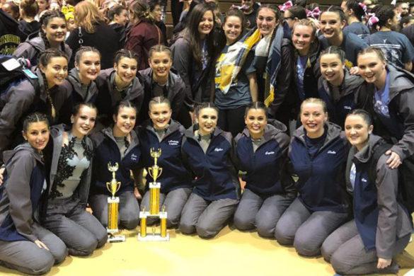 SJC Long Island's dance team.