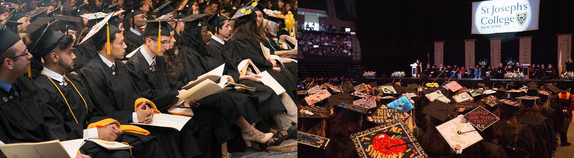 St. Joseph's College 2018 graduation ceremonies.
