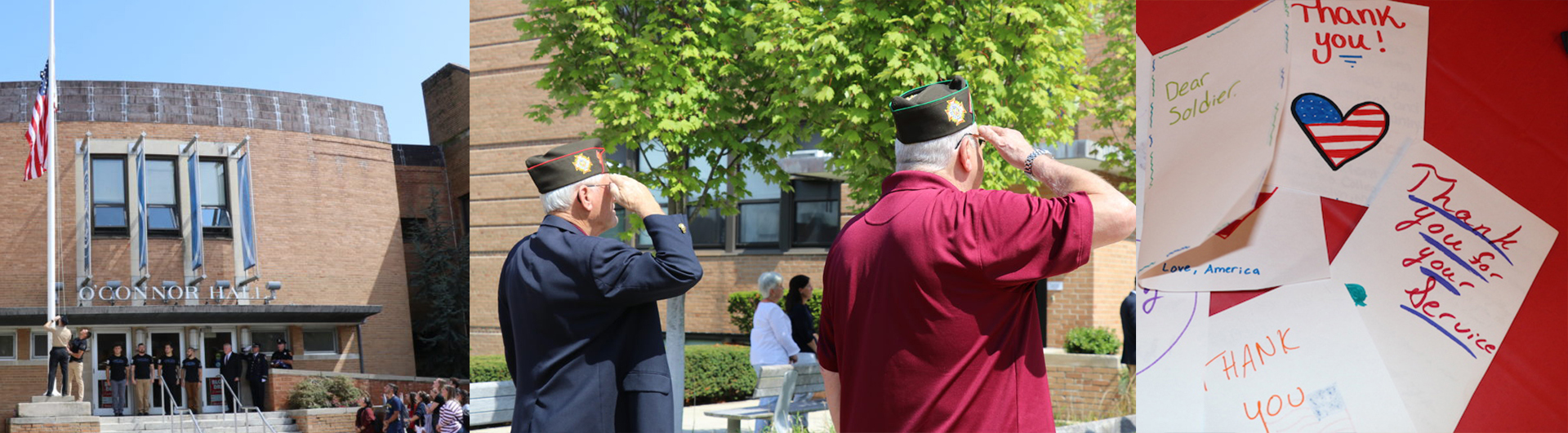 Sept. 11 remembrance events at both campuses in 2018.