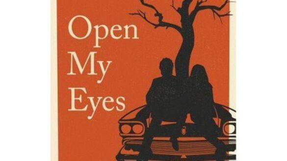 """Cover of T.E. Hahn's debut novel """"Open My Eyes."""""""