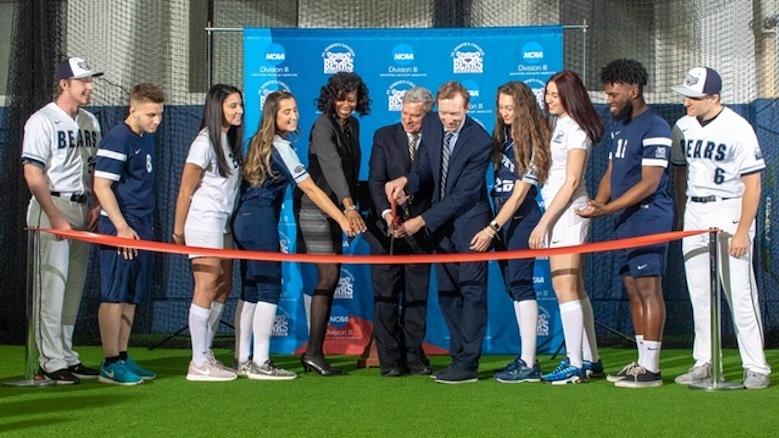 SJC Brooklyn welcomes new indoor athletic turf.