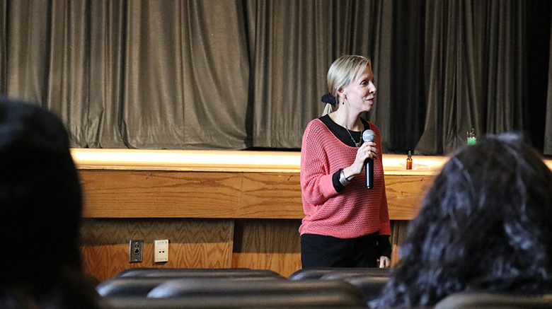 St. Joseph's College held events and hosted guest speakers in honor of Sexual Assault Awareness Month.