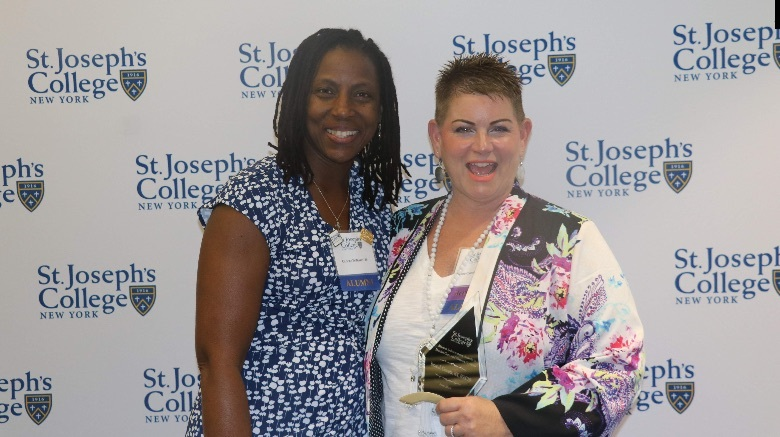 SJC Long Island honors alumni in the health care and human services fields.