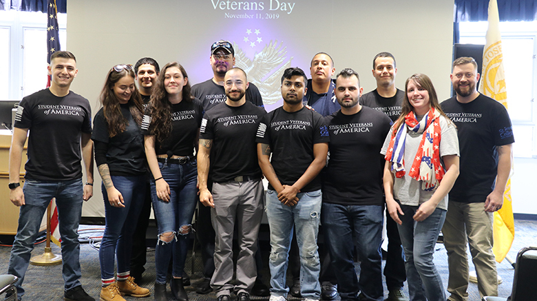 SJC Long Island honors all service members past and present during its annual Veterans Day event.