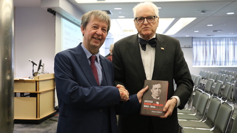 St. Joseph's hosts a lecture series with noted Irish-American historian Michael Doorley, Ph.D.