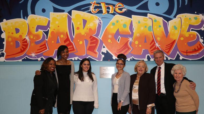 SJC Brooklyn renovates the Bear Cave after generous donations.