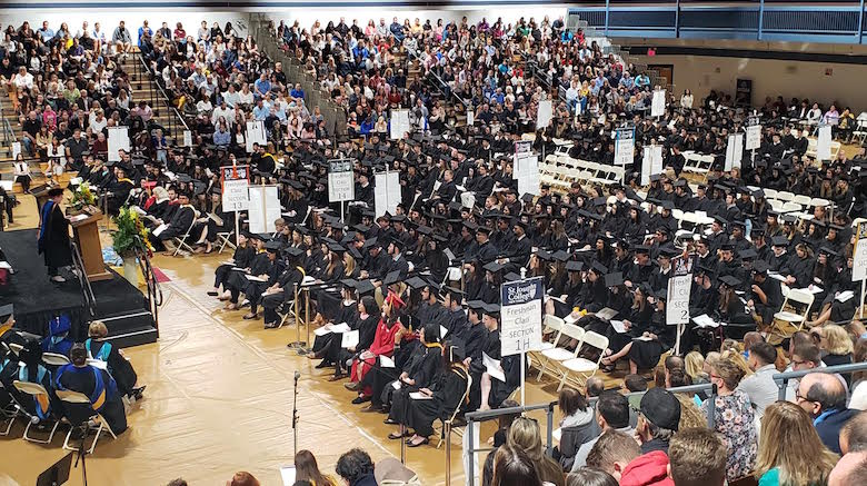SJC Long Island formally welcomed the Class of 2023 during Investiture.