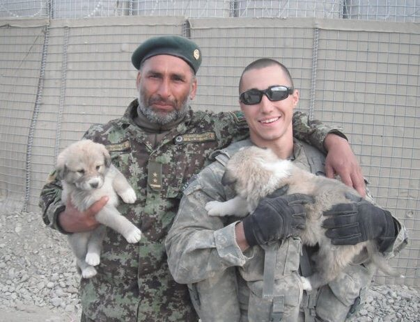 John Davis in Afghanistan.