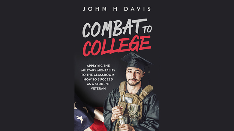 Former SJC Long Island student veteran John Davis' book cover.