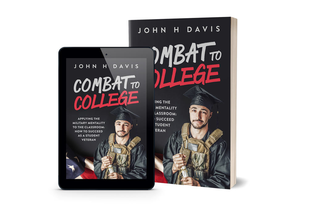 John Davis' book, which helps other student veterans succeed in college.