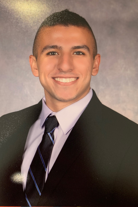 Charlie Gambino, who earned a dual degree from SJC in accounting.
