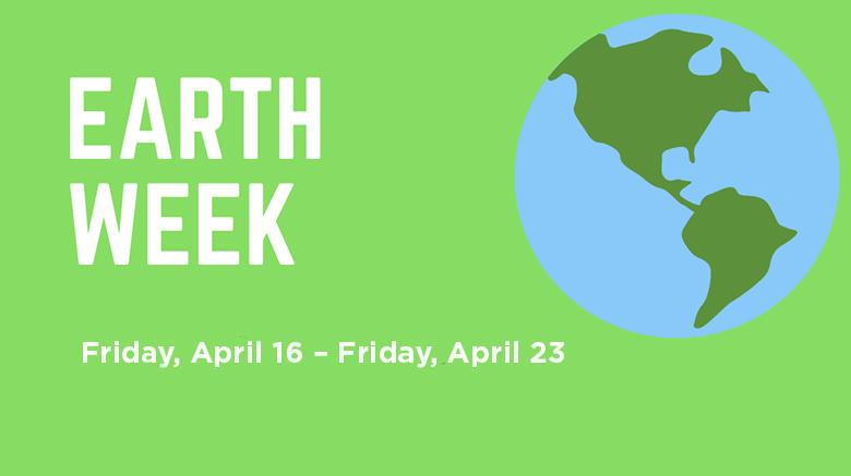 SJC Earth Week poster.