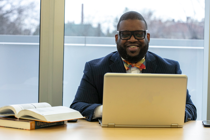 Cory Sargeant, who earned a dual degree in health administration with SJC Online.